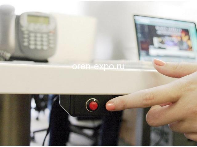 Установка тревожной кнопки для охранной сигнализации - 1
