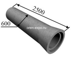 Трубы железобетонные раструбные безнапорные армированные ГОСТ6482-2011 - Изображение 1
