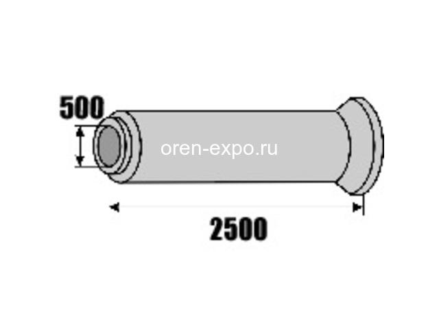Трубы железобетонные раструбные безнапорные армированные ГОСТ6482-2011 - 5