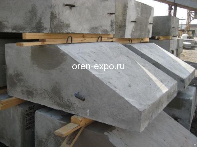 Утяжелители бетонные охватывающего типа УБО - 2