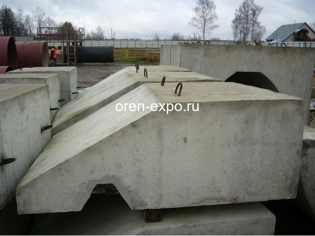 Утяжелители бетонные охватывающего типа УБОм - 1