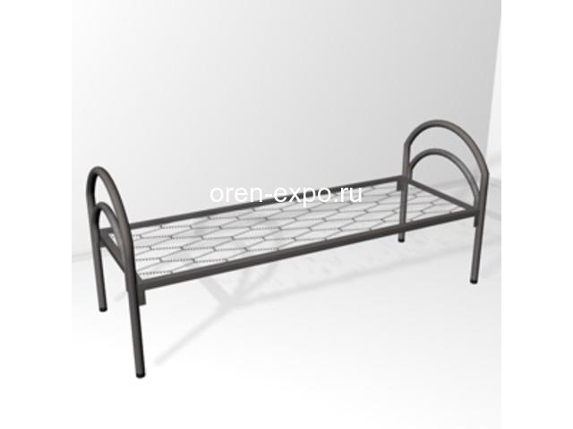 Прочные кровати металлические в общежития с доставкой - 1