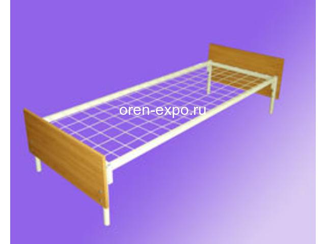 Прочные кровати металлические в общежития с доставкой - 5