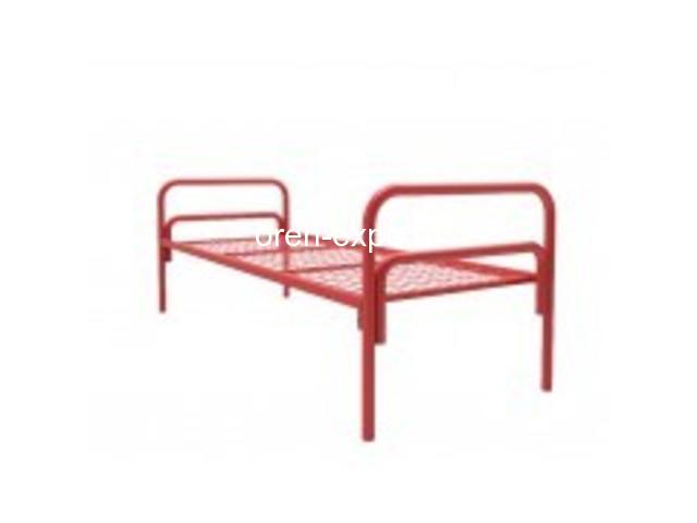 Дешево купить кровати металлические ГОСТ образца в казармы - 3