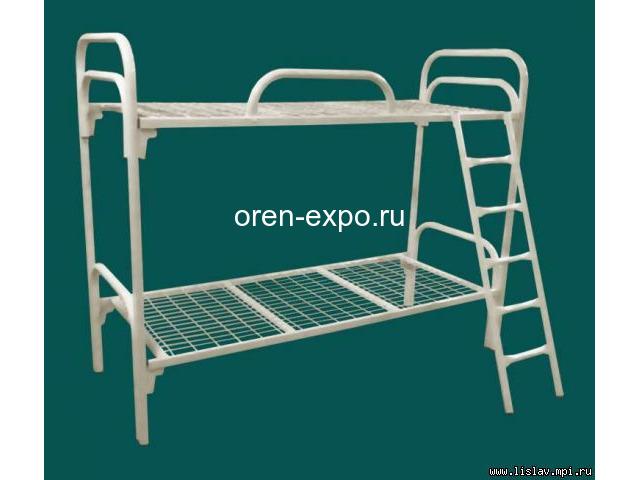 Дешево купить кровати металлические ГОСТ образца в казармы - 4