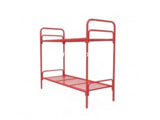 Дешево купить кровати металлические ГОСТ образца в казармы - 5