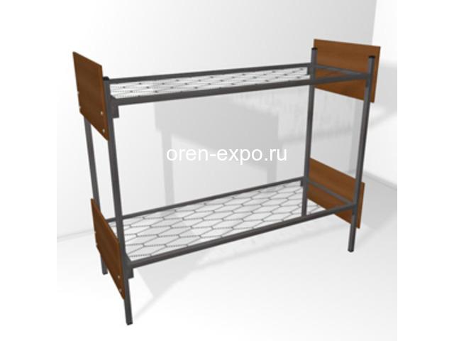 Двухъярусные кровати металлические со сварными сетками - 3