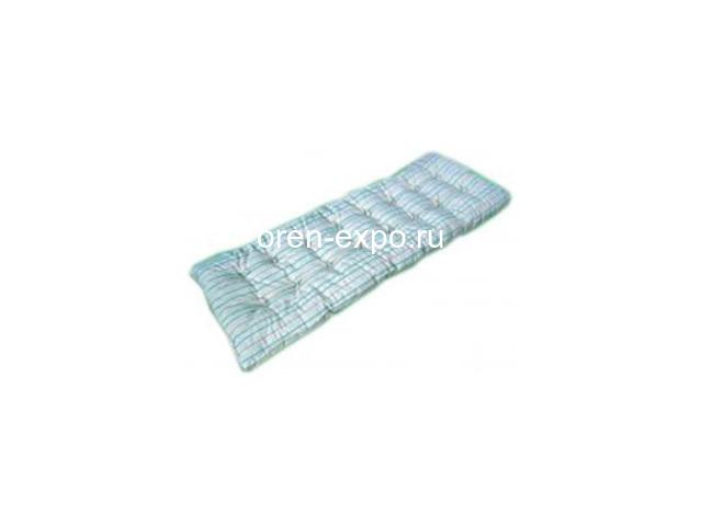 Одноярусные кровати металлические для дома с ДСП - 7