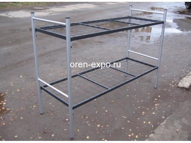 Кровати металлические одноярусные на заказ с доставкой - 1
