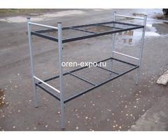 Кровати металлические одноярусные на заказ с доставкой - Изображение 1
