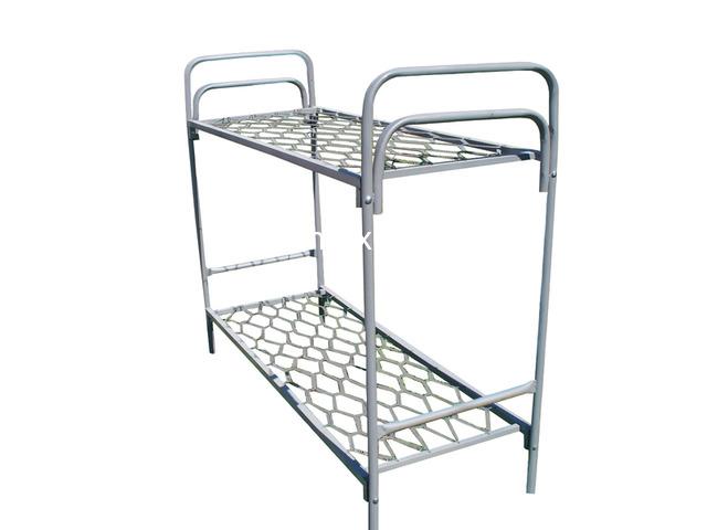 Кровати металлические одноярусные на заказ с доставкой - 2