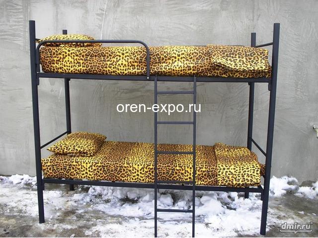 Кровати металлические в гостиницы - 2