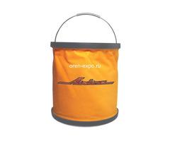 Ведро-трансформер компактное оранжевое (11л)