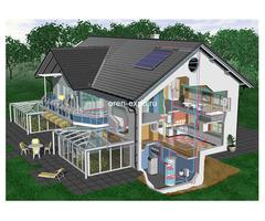 Системы отопления коттеджей и загородных домов в Оренбурге