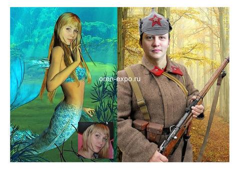 ШАРЖ-КОЛЛАЖ по ФОТО